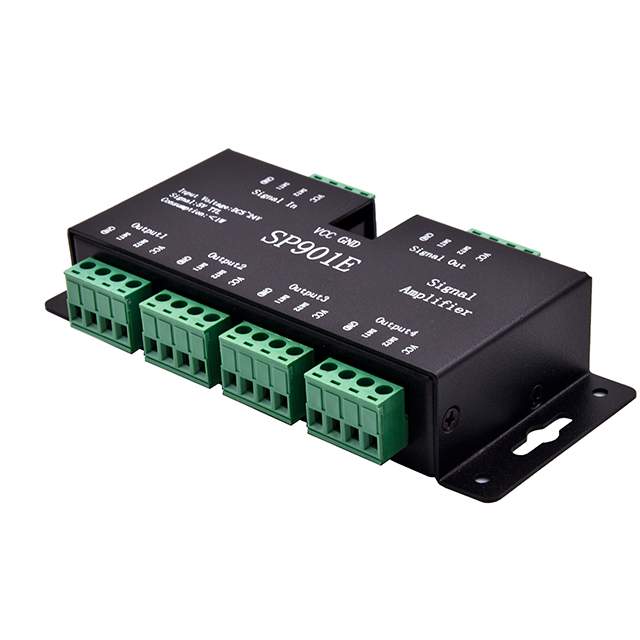 SP901E Pixel LED Digital TTL SPI Signal Amplifier