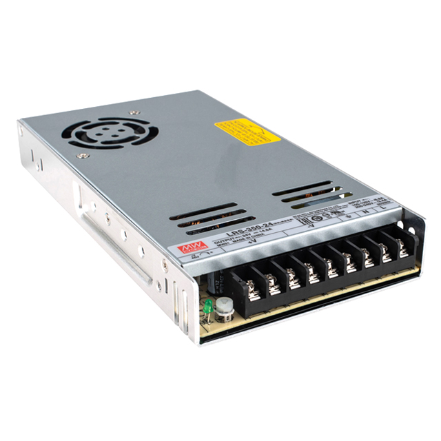 Non-waterproof UL Meanwell LRS series 350W LED Power Supply