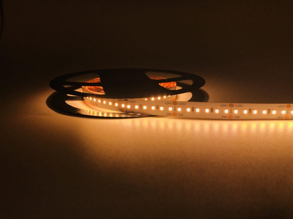 CRI>90-95 SMD2216 HIGH DENSITY LED TAPE FROM 180 LEDS TO 360 LEDS